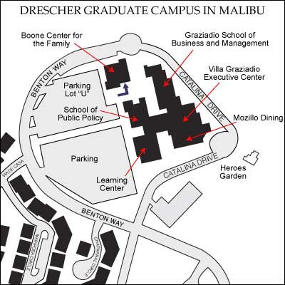 Drescher Graduate Campus Map